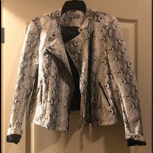 Python jacket! Never worn just tried on!